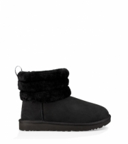 МИНИ FLUFF QUILTED BLK